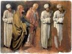 Группа апостолов. Эскиз. 1840-е