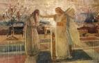 Архангел Гавриил поражает Захарию немотой. 1850-е