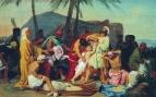 Братья Иосифа находят чашу в мешке Вениамина. 1831-1833