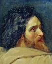 Голова Иоанна Крестителя. Этюд
