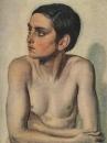 Полуфигура обнаженного мальчика. Этюд для картины Явление Христа народу. 1830-е-1840-е