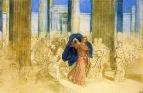 Изгнание торгующих из храма. 1824