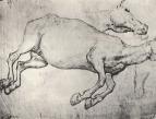 Этюд мертвой лошади