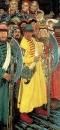 Едут. Народ московский во время въезда иностранного посольства в Москву в конце 17 века. 1901