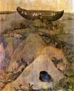 Земля после потопа (ок.1500) (69.5 х 38) (Роттердам, муз.Бойманс-ван-Бенинген)_деталь