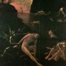 Ад. Деталь. Фигура скорбящего мужчины