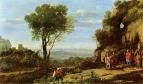 Пейзаж с Давидом и тремя героями