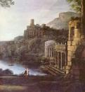 Пейзаж с нимфой Эгерией и царем Нумой