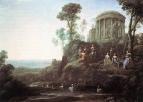 Аполлон и музы на горе Гелион Парнаса