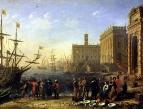 Вид гавани с Капитолием