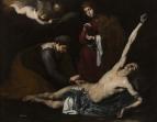 Женщины склоняются над святым Себастьяном