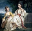 Портрет миссис Трейл и ее дочери Эстер