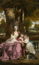 Леди Элизабет Делме и ее дети