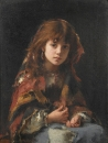 Портрет девочки в шали