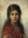 Девочка в красной шали