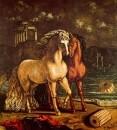 Los divinos caballos de Aquiles Balios y Xanthos