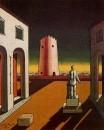 Plaza de Italia con torre roja