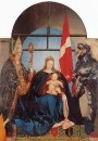 Золотурнская Мадонна со святыми Мартином Турским (слева) и Урсом Золотурнским,
