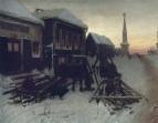 Последний кабак у заставы. 1868 Х., м. 51,1х65,8 ГТГ