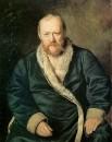 Портрет А.Н.Островского, 1871 Х., м. 103,5х80,7 ГТГ