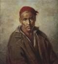 Голова Киргиза-каторжника. 1873 Х., м. 64,5х58,5 ГРМ