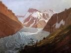 Монбланский горный массив, 1825
