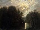 Речной Пейзаж около Лейпцига, 1840