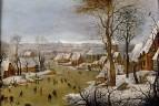Зимний пейзаж с бегством в Египет (1602) (Антверпен, Музей Майер ван дер Берг)