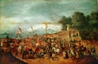 Голгофа (ок.1605) (Будапешт, Музей искусств)