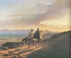 Воспоминание о Кавказе. Масло. 1838
