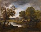 купальщицы на берегу реки