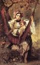 Мать оберегает ребенка