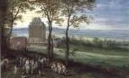Вид Мариемонта с севера, 1611