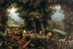 Земля (Первозданный рай), 1607-1608