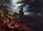 Прибрежный пейзаж с жертвой Джонаса