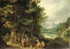 Св. Джон в диком лесу, 1600