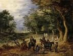 Стражники в лесу, 1607