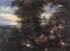 Адам и Ева в райском саду, 1610-е