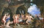 Jan Brueghel, Pieter Paul Rubens - Пир Ахилла, 1615