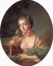 Портрет дочери художника, около 1760