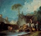 Пересечение моста, 1730-е