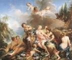 Похищение Европы, 1732-1734