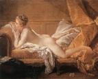 Отдыхающая девушка (мадемуазель O'Мёрфи), 1751