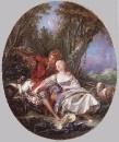 Отдыхающие Пастух и Пастушка, 1761