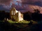 Руины в лунном свете. 1849