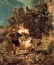 Фавн, пугающий пастуха. 1860