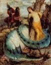 Анжелика, охраняемая драконом. 1873