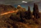 Солдаты, поднимающиеся к горной крепости. 1871