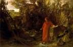 Петрарка у источника,1867