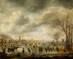 Веселье на льду, ок, 1650